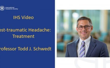 Post-traumatic headache: treatment