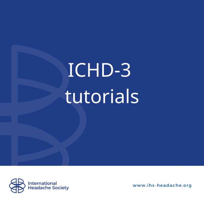 ICHD-3 tutorials