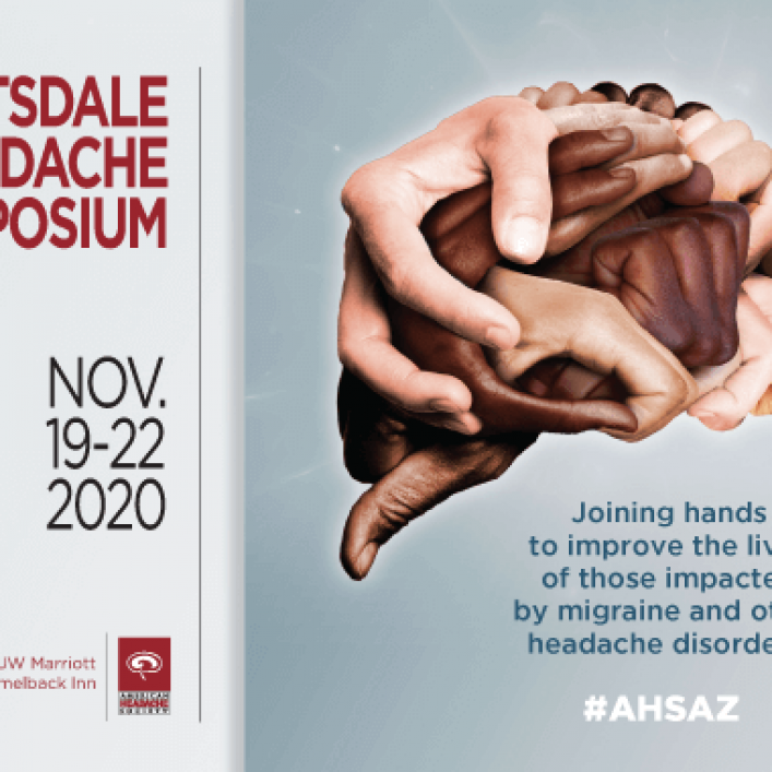 Register now for the virtual 2020 Scottsdale Headache Symposium – 19-22 November