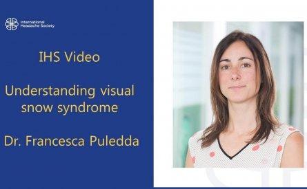 Patología del síndrome de nieve visual