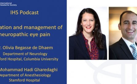 Evaluation and management of neuropathic eye pain