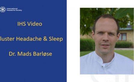 Cluster headache and sleep