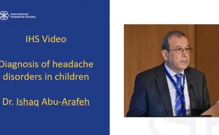 Diagnóstico de trastornos de cefalea en niños