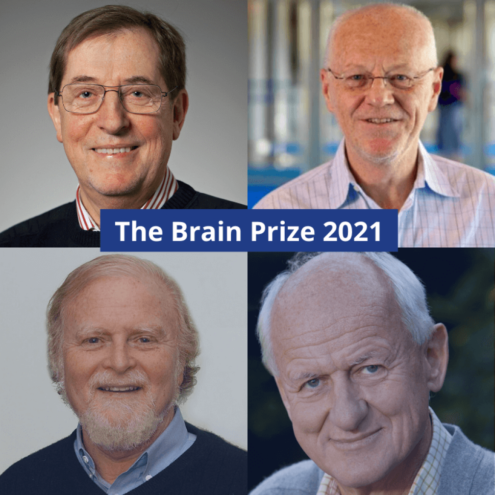 The Brain Prize awarded to four IHS Past-Presidents