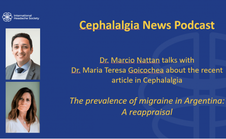 Cephalalgia Podcast 6 – The prevalence of migraine in Argentina: A reappraisal