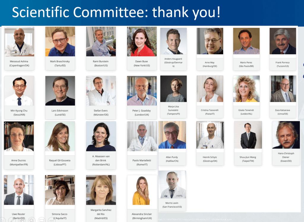 IHC 2021 SPC members