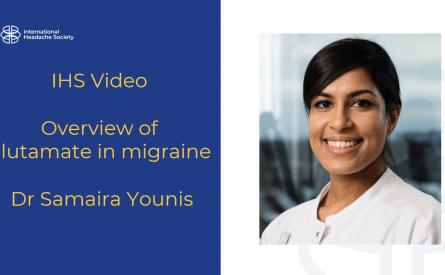Resumen de la función del glutamato en la migraña